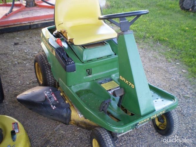 john deere srx75 riding lawn mower for sale ✓ how to  john deere srx75 wiring diagrams