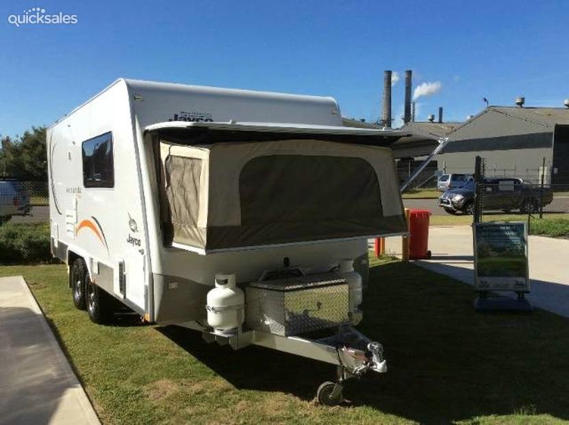 Model 2013 Jayco Expanda Outback  Capricorn Caravan Hire