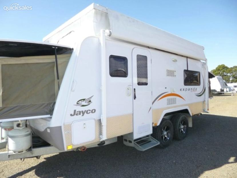 Brilliant Other Friends We Spent A Lot Of Time With Had A Jayco Expanda More Expensive  Because We Had No Way Of Cooking Or Keep Food Cold And No Power! We Had To Run Our Portable Fridge Through The Solar Battery As It Was An Off The Grid