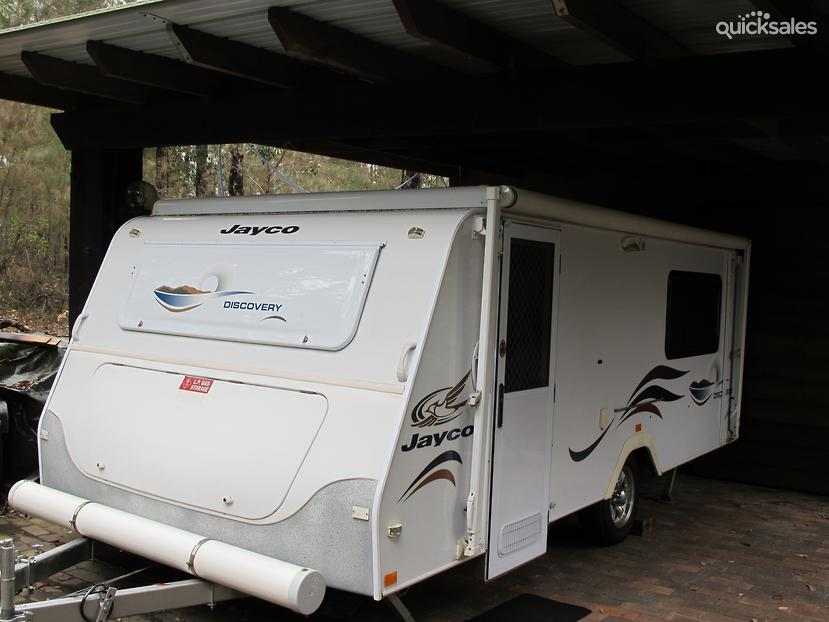 New  Extension Jayco Expanda Caravan Annex With Front Rear Extensions