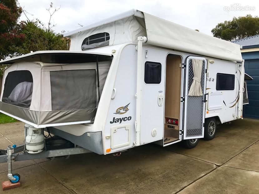 Cool 2007 Jayco Expanda Outback Caravan With Triple Bunks Pictures To Pin