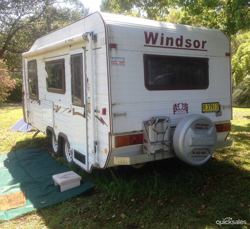 Elegant 2013 Avan Windsor Genesis Hardtop Caravan  Quicksalescomau Item 1000371056
