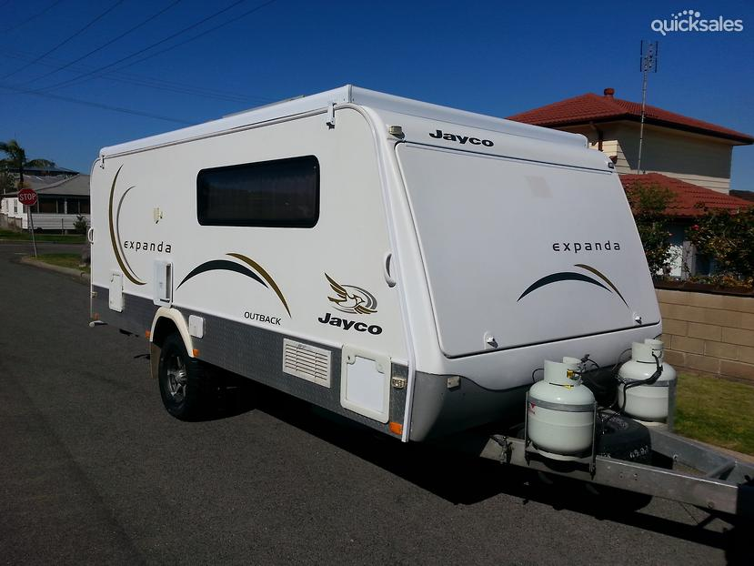 Awesome 2008 Jayco Expanda Caravan With Bathroom  14445 For Sale In Acton