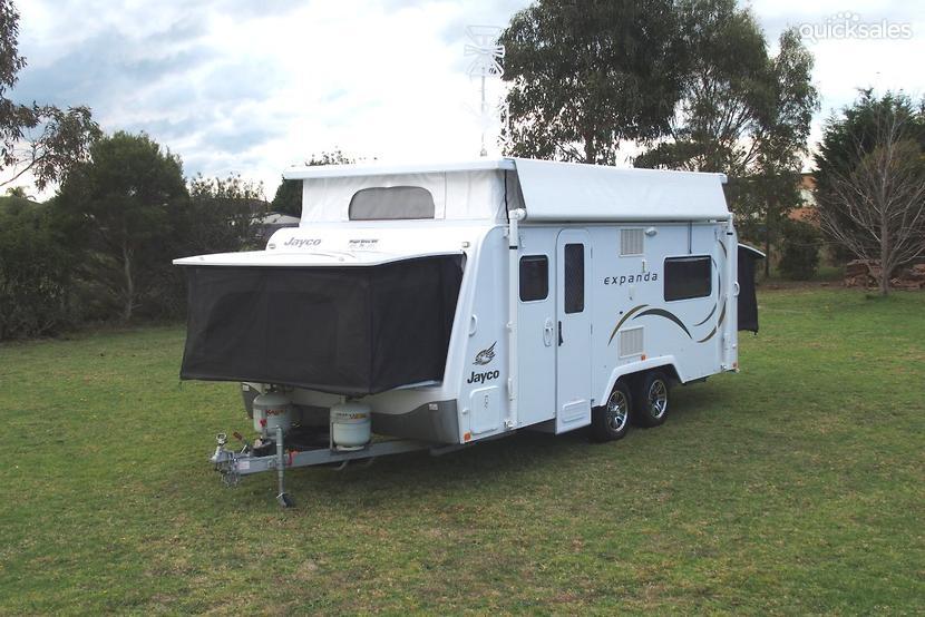 Lastest 2013 Jayco Expanda Outback  Capricorn Caravan Hire
