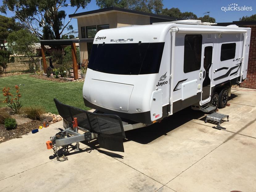 Jayco Silverline Outback >> 2014 Jayco Silverline Outback | quicksales.com.au item 1000330785