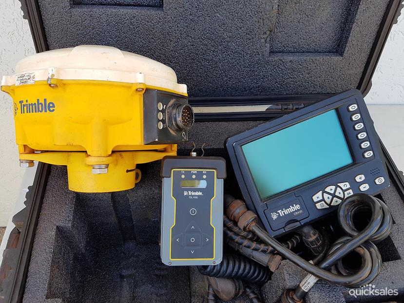 trimble gps machine