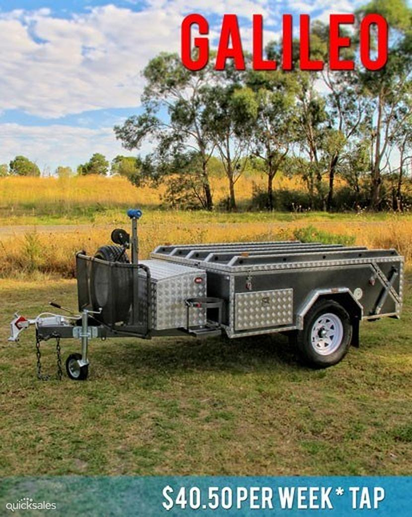 how to set up rear fold camper ezytrail