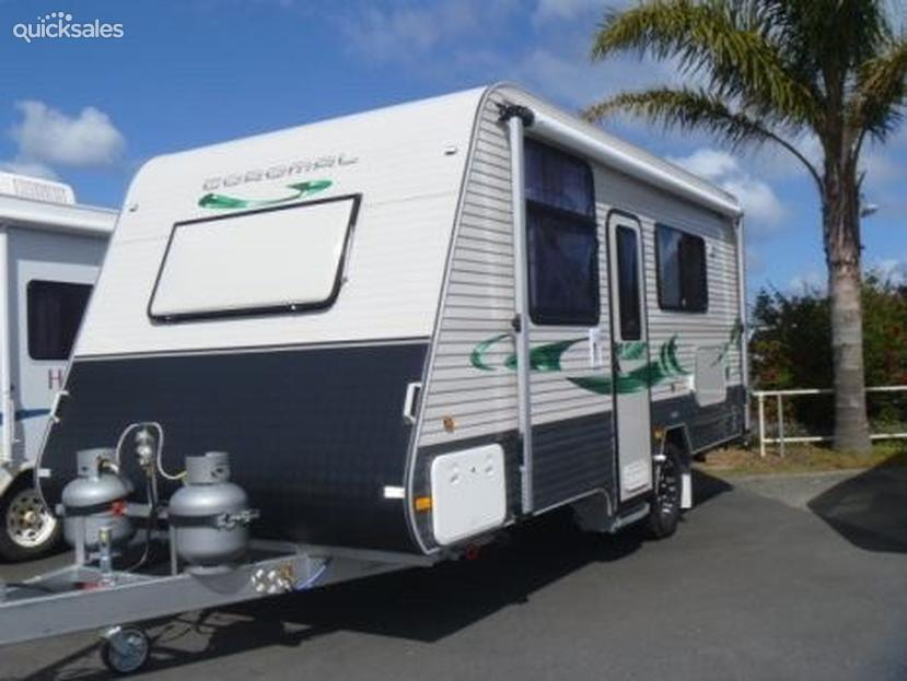 Popular Coromal Element 632 RTP Used Caravan
