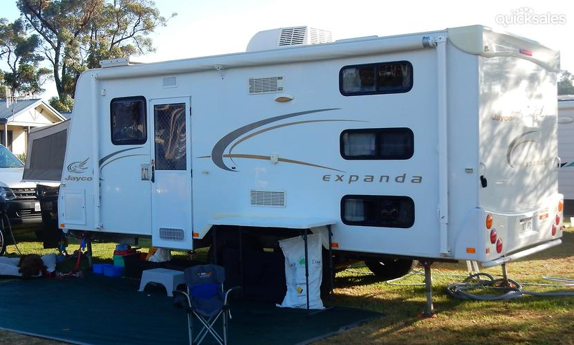 Awesome JAYCO OUTBACK EXPANDA 21641 WITH TRIPLE BUNKS THIS IS SOLD