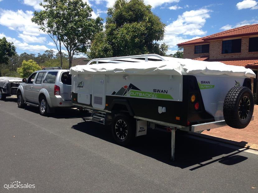 Beautiful 2013 Jayco Swan Outback  Quicksalescomau Item 1000037376