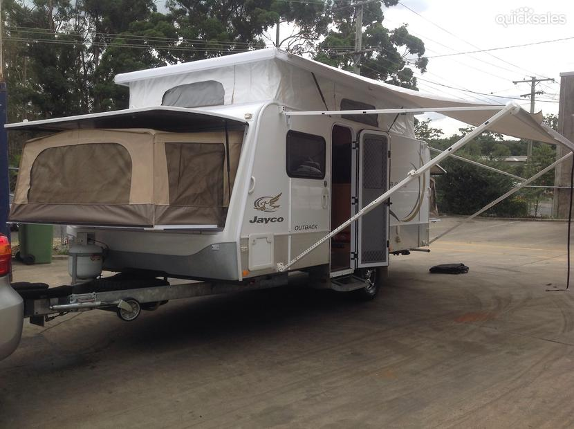 Elegant Jayco Expanda 16494 Outback Caravan Hire  Luxury Caravan Hire