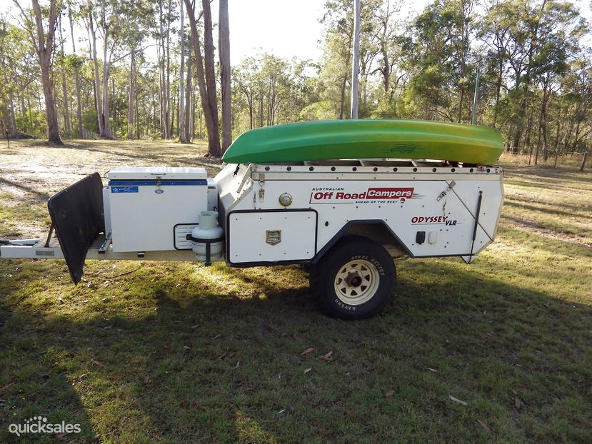 Unique Australian Off Road Campers  Caloundra Time For Fishing