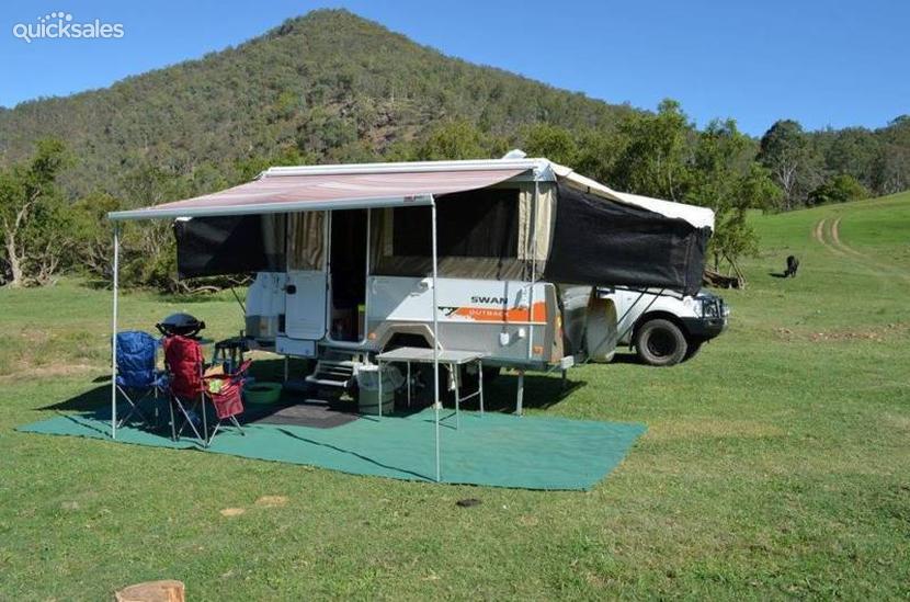 Original 2012 Jayco Swan Outback  Quicksalescomau Item 1000052544
