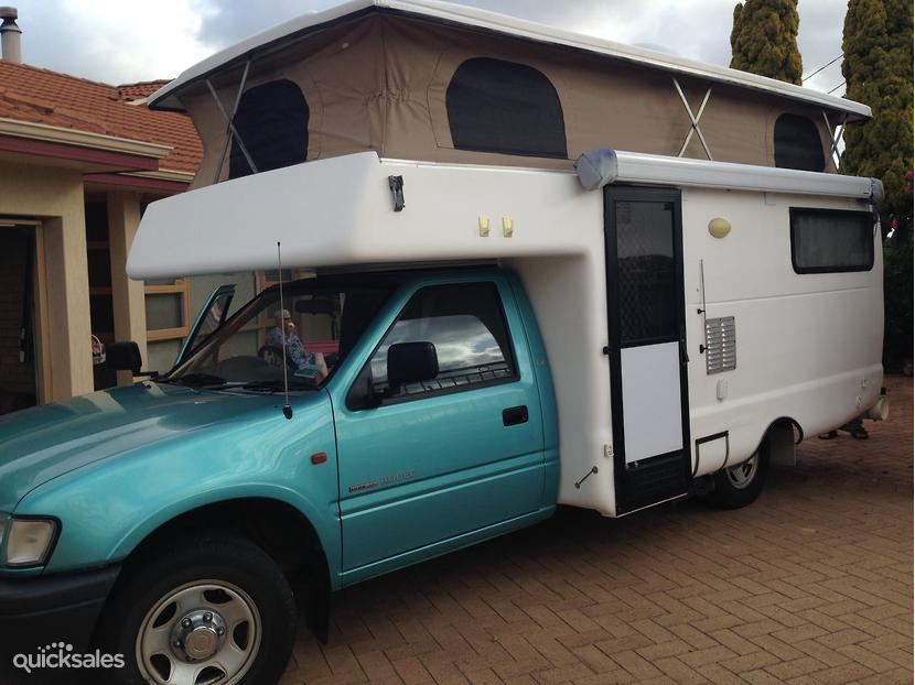 2000 Custom Built Motor Homes Fitted To Holden Rodeo
