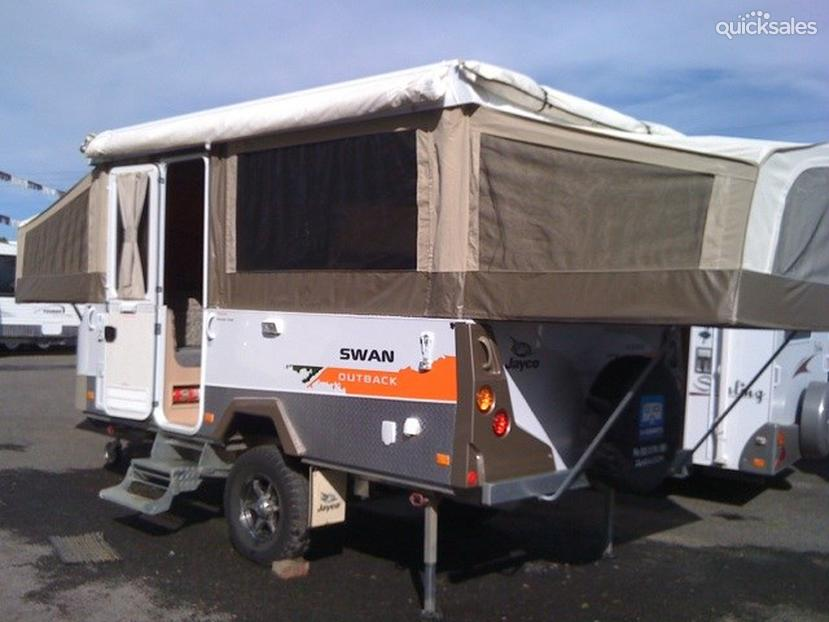 Simple Jayco Swan Outback  Travel Around Australia
