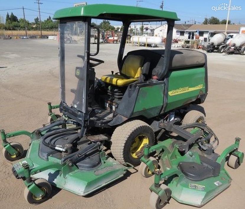 John Deere Lawn Mower Turbo : John deere turbo m wide cutting decks