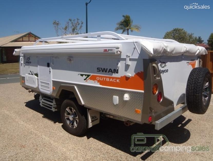Creative 2012 Jayco Swan Outback  Quicksalescomau Item 1000050827