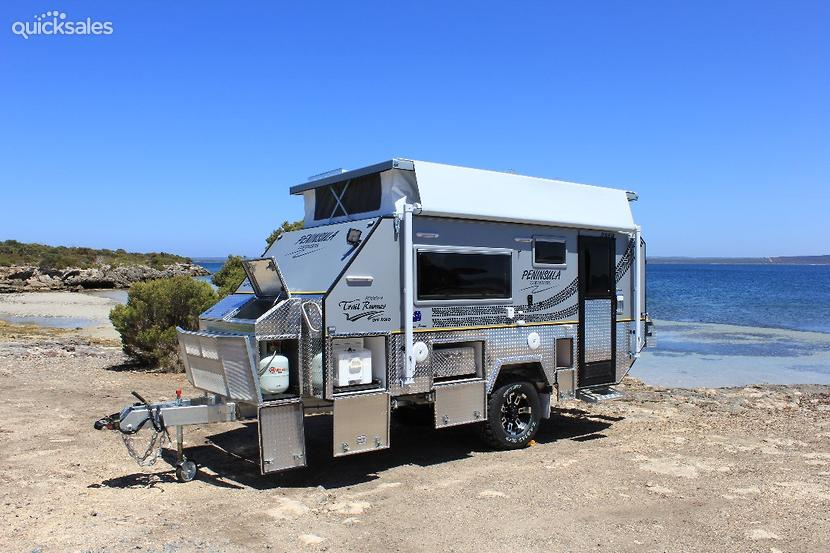 Beautiful 16ft Offroad Jayco Poptop Caravan For Sale In ABBOTSFORD Queensland