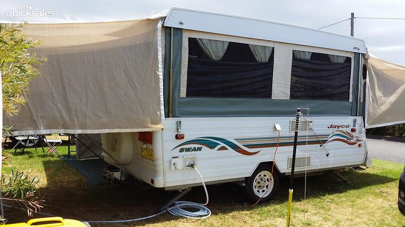 Elegant 2016 Jayco Swan Outback Sleeps 6 Inside  Spreader Pole Kit No Need For Ropes As Shown In Picture, 12V Plugs Through Out Trailer 240V Inverter To Charge Battery As Second Owner Has Always Been Garaged Never Been Off Road Or