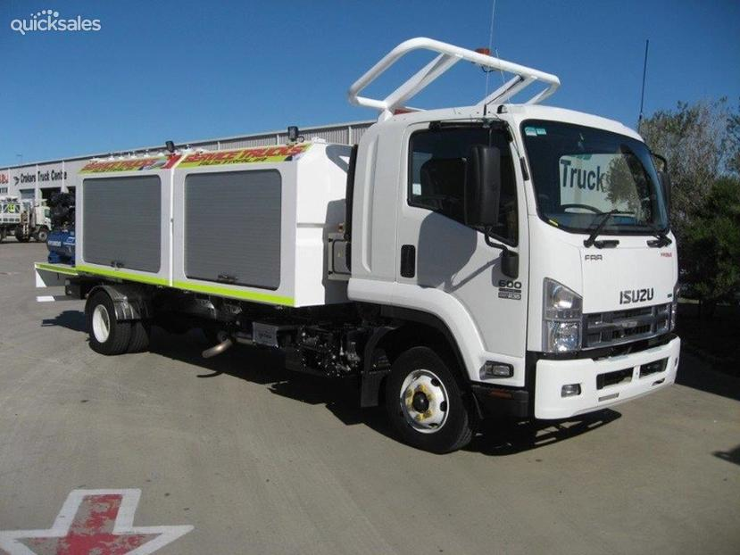 Port Hedland Postcode >> 2015 Isuzu Frr600 4X2 Service Truck 7 X 400Lt Oil Tanks & Toolbox   quicksales.com.au item ...