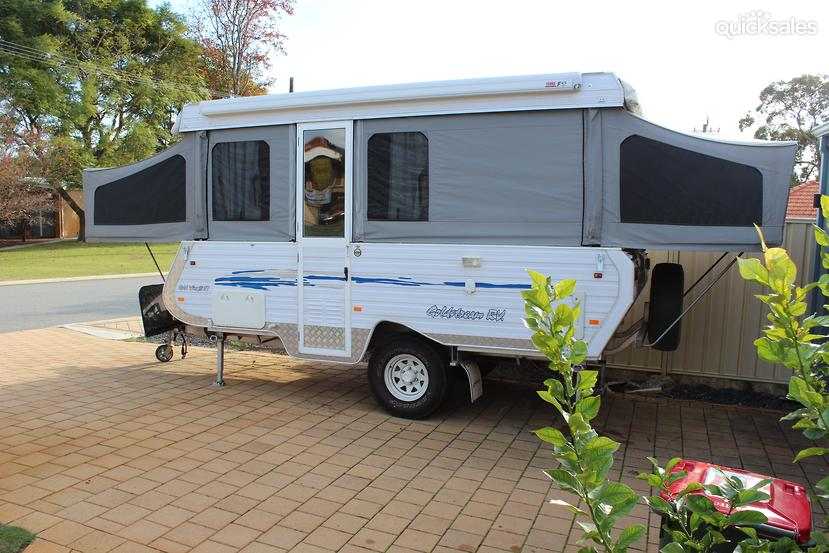 Original 2013 Coromal Element 2039 Semi Off Road Caravan With Shower And Toilet