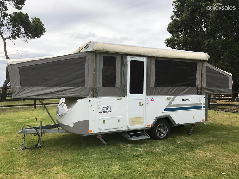 Awesome There Are Seven Models In Jaycos 2014 Range  Swift, Penguin, Eagle, Dove, Swan, Flamingo And Hawk  Standard Inclusions Lead In With A 4burner Gas Grill, Innerspring Mattresses  Most Have Queen Size Beds  3way Fridge, Fire