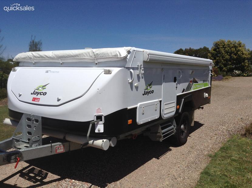 Perfect New Jayco Swan Outback Camper Trailer  Jayco Canterbury