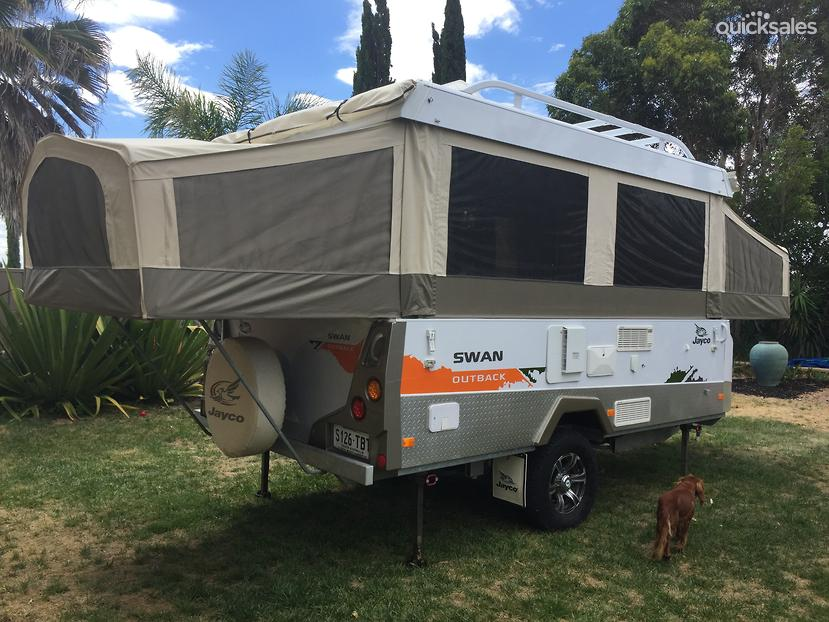 Elegant 2011 Jayco Swan Outback  Quicksalescomau Item 1000391637