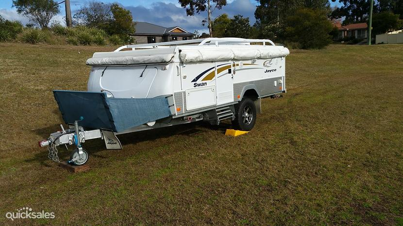 Lastest New Jayco Swan Outback Camper Trailer  Jayco Canterbury Caravan Court