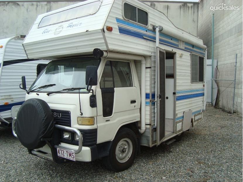 1985 Custom Built Motor Homes Daihatsu Delta Quicksales