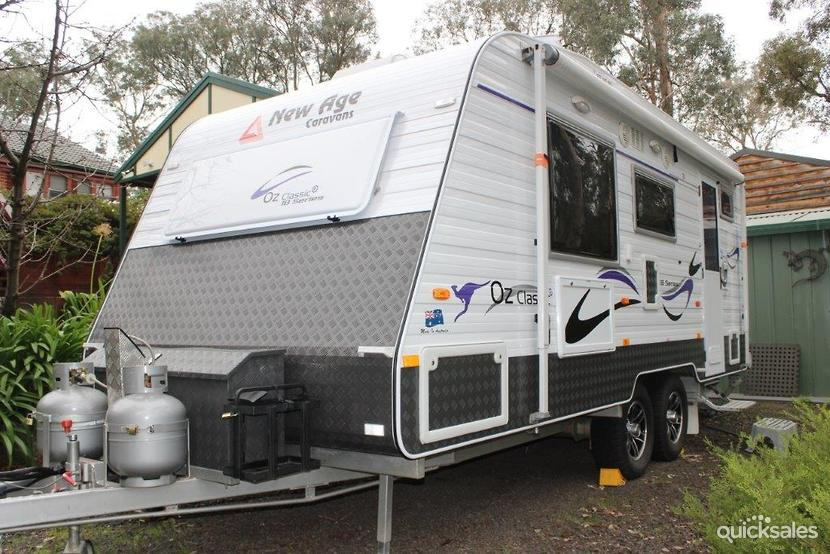 Excellent  News A New Age In Australian Manufacturing New Age Caravans Is