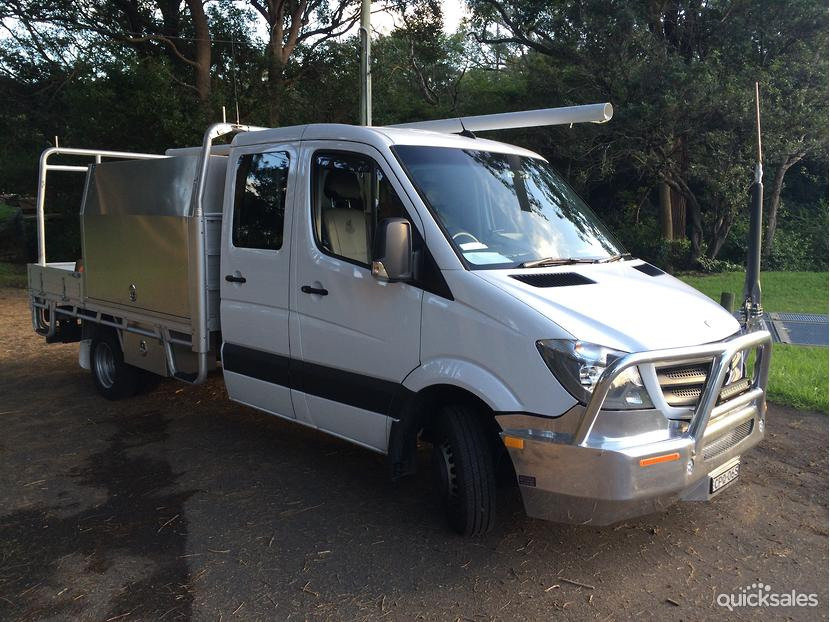 2014 mercedes benz sprinter 516 lwb cab chassis for Mercedes benz sprinter cab chassis