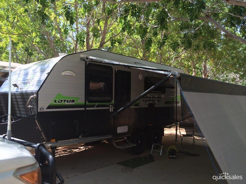 Original 2013 LOTUS CARAVANS FREELANDER For Sale  Trade RVs Australia