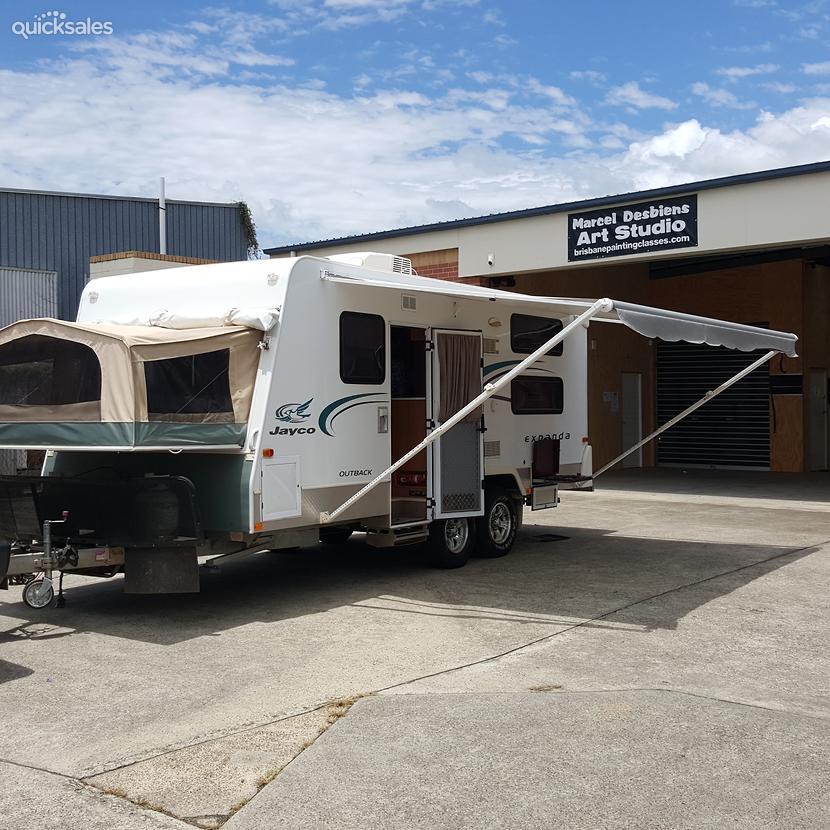 Simple Jayco Expanda 19ft Triple Bunk With Ensuite  Aussie Used Caravans