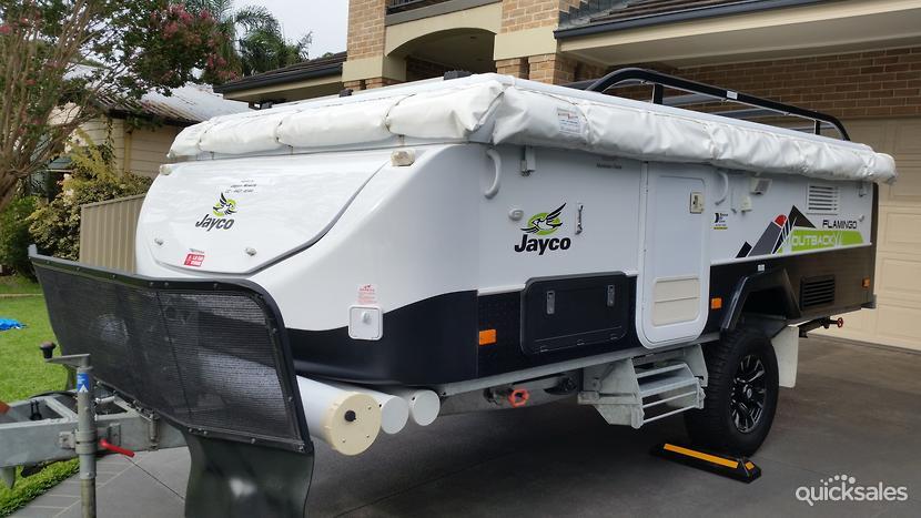 2014 Jayco Flamingo Outback Camper Trailer Quicksales